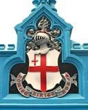 ασπίδα του Λονδίνου πόλεων στοκ φωτογραφίες με δικαίωμα ελεύθερης χρήσης