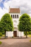 Ασπρισμένη εκκλησία στη Σουηδία Στοκ φωτογραφίες με δικαίωμα ελεύθερης χρήσης