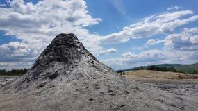 λασπώδη ηφαίστεια τοπίων στοκ φωτογραφία με δικαίωμα ελεύθερης χρήσης