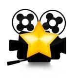 Αστέρας κινηματογράφου Στοκ φωτογραφία με δικαίωμα ελεύθερης χρήσης