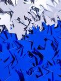 αστέρια ανασκόπησης Στοκ εικόνες με δικαίωμα ελεύθερης χρήσης