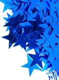αστέρια ανασκόπησης Στοκ εικόνα με δικαίωμα ελεύθερης χρήσης