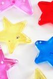 αστέρια ανασκόπησης Στοκ φωτογραφίες με δικαίωμα ελεύθερης χρήσης