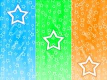 αστέρια ανασκόπησης Στοκ Εικόνες