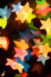 αστέρια ανασκόπησης Στοκ Φωτογραφίες
