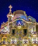 Αστέρια επάνω από Casa Batllo Στοκ φωτογραφία με δικαίωμα ελεύθερης χρήσης