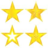 Αστέρια καθορισμένα Στοκ Εικόνα