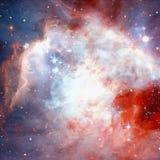 Αστέρια και γαλαξίας σε ένα βαθύ διάστημα στοκ φωτογραφίες