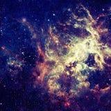 Αστέρια και γαλαξίας σε ένα βαθύ διάστημα στοκ φωτογραφία με δικαίωμα ελεύθερης χρήσης