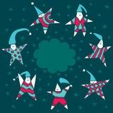αστέρια κατσικιών Στοκ Εικόνα