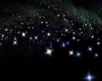 αστέρια νύχτας Στοκ Εικόνες