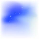 αστέρια ουρανού σύννεφων διανυσματική απεικόνιση