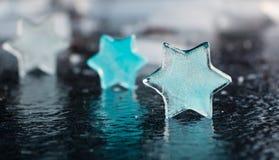 Αστέρια πάγου Στοκ εικόνες με δικαίωμα ελεύθερης χρήσης