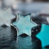 Αστέρια πάγου Στοκ εικόνα με δικαίωμα ελεύθερης χρήσης