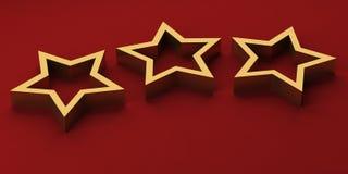 αστέρια πολυτέλειας Στοκ φωτογραφία με δικαίωμα ελεύθερης χρήσης