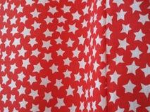 Αστέρια στην κουρτίνα Στοκ Εικόνες