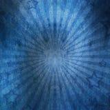 Αστέρια στον εκλεκτής ποιότητας τοίχο grunge Στοκ Εικόνα