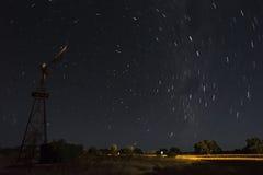 Αστέρια στον εσωτερικό της Αυστραλίας Στοκ φωτογραφία με δικαίωμα ελεύθερης χρήσης