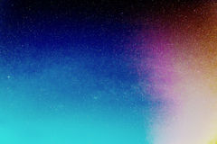 Αστέρια στο νυχτερινό ουρανό Στοκ Φωτογραφία