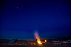 αστέρια στρατοπέδευσης &k Στοκ φωτογραφία με δικαίωμα ελεύθερης χρήσης