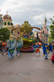 Αστέρια της Disney στην παρέλαση Στοκ Εικόνα