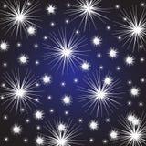 Αστέρια υποβάθρου Στοκ φωτογραφίες με δικαίωμα ελεύθερης χρήσης