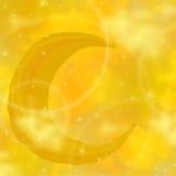 αστέρια φεγγαριών ανασκόπ&e Στοκ φωτογραφία με δικαίωμα ελεύθερης χρήσης