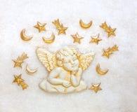 αστέρια Χριστουγέννων αγ&ga Στοκ Εικόνα