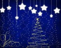 αστέρια Χριστουγέννων αν&alph Στοκ εικόνες με δικαίωμα ελεύθερης χρήσης
