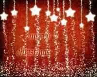 αστέρια Χριστουγέννων αν&alph Στοκ Εικόνα