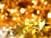 αστέρια Χριστουγέννων Στοκ Εικόνα