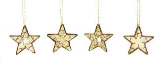 Αστέρια Χριστουγέννων Στοκ εικόνα με δικαίωμα ελεύθερης χρήσης