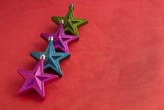 Αστέρια Deco στοκ εικόνες με δικαίωμα ελεύθερης χρήσης