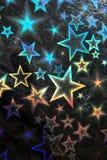 αστέρι ανασκόπησης Στοκ Εικόνες