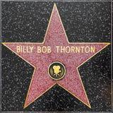 Αστέρι βαριδιών του Μπίλι thorntons στον περίπατο Hollywood της φήμης στοκ φωτογραφίες