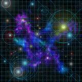 αστέρι διαγραμμάτων διανυσματική απεικόνιση