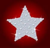 αστέρι διαμαντιών Στοκ Εικόνες