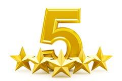 αστέρι εκτίμησης πέντε