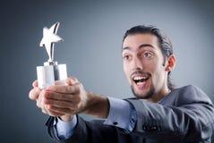 αστέρι επιχειρηματιών βραβείων Στοκ φωτογραφία με δικαίωμα ελεύθερης χρήσης