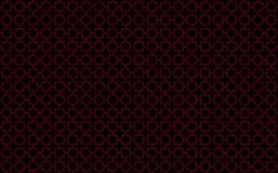 Αστέρι και διαγώνιο κεραμίδι-όπως σχέδιο με τις κόκκινες εμφάσεις στο μαύρο υπόβαθρο, που εμπνέεται από το μαροκινό tilework που  ελεύθερη απεικόνιση δικαιώματος