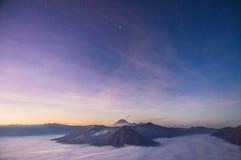 Αστέρι και ουρανός Στοκ φωτογραφία με δικαίωμα ελεύθερης χρήσης
