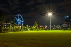 Αστέρι και φεγγάρι της Μελβούρνης Στοκ Εικόνες