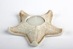 αστέρι κατόχων ψαριών κεριών Στοκ Εικόνα