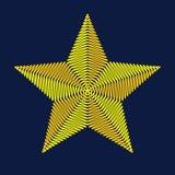 Αστέρι κεντητικής επίσης corel σύρετε το διάνυσμα απεικόνισης Στοκ φωτογραφία με δικαίωμα ελεύθερης χρήσης