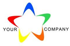αστέρι λογότυπων Στοκ Εικόνα