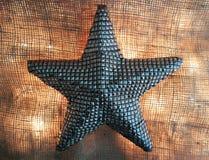 Αστέρι με το όμορφο φως Στοκ εικόνα με δικαίωμα ελεύθερης χρήσης