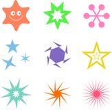 αστέρι μορφών απεικόνιση αποθεμάτων