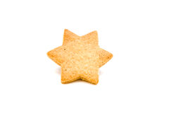 αστέρι μπισκότων Στοκ Εικόνες