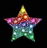 Αστέρι πολύτιμων λίθων ελεύθερη απεικόνιση δικαιώματος
