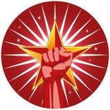 αστέρι πυγμών Στοκ φωτογραφίες με δικαίωμα ελεύθερης χρήσης